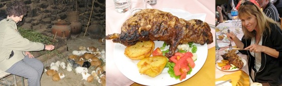 Guinea Pig for dinner in Peru