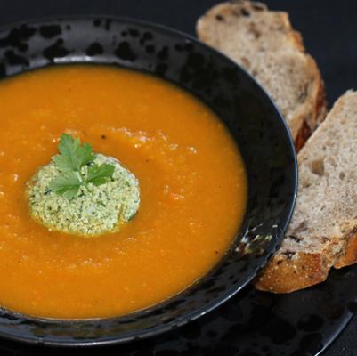Sweet Potato Butternut Squash Soup