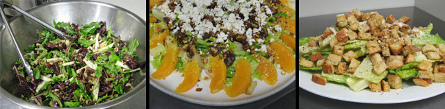 salads from New School of Cooking
