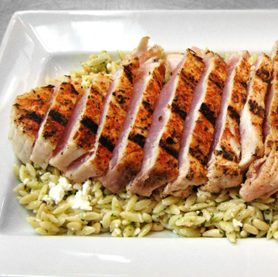 Dry Rubbed Grilled Tuna