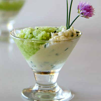 Cucumber and Cheese Verrine & Market Cooking Class in Paris