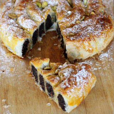 M'hanncha – Moroccan Snake Pastry