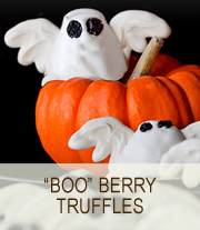 BOO-Berry Truffles | She Paused 4 Thought