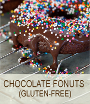 Chocolate-Fonuts- wheat/gluten free