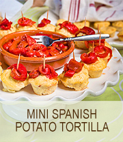 Mini Spanish Potato tortilla recipe