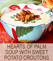 Heart of Palm Soup | She Paused 4 Thought