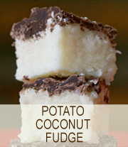 Potato-Coconut-Fudge