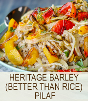 Slow Carb Heritage Barley | She Paused 4 Thought
