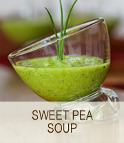 sweet pea soup by cathy nelson arkle