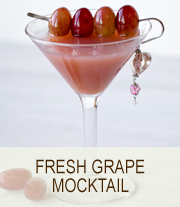 Fresh Grape Mocktail | She Paused 4 Thought