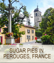 Sugar Pies in Perouges | She Paused 4 Thought