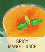 Spicy mango juice