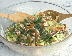 Fennel salad