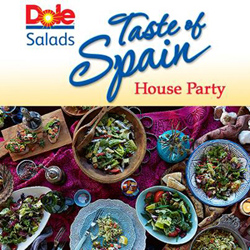 Dole Salad House Party logo