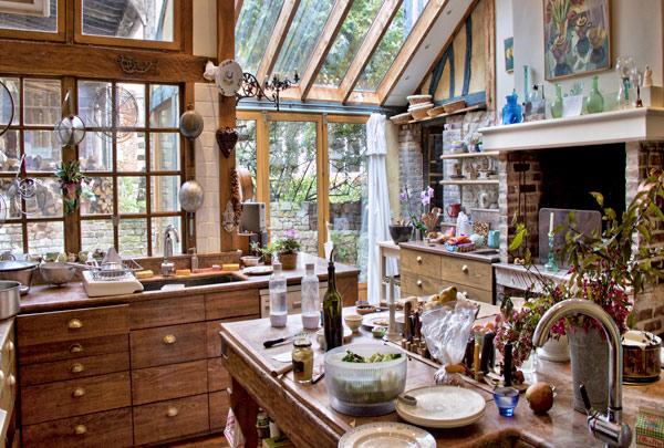 Susan Herrmann Loomis kitchen