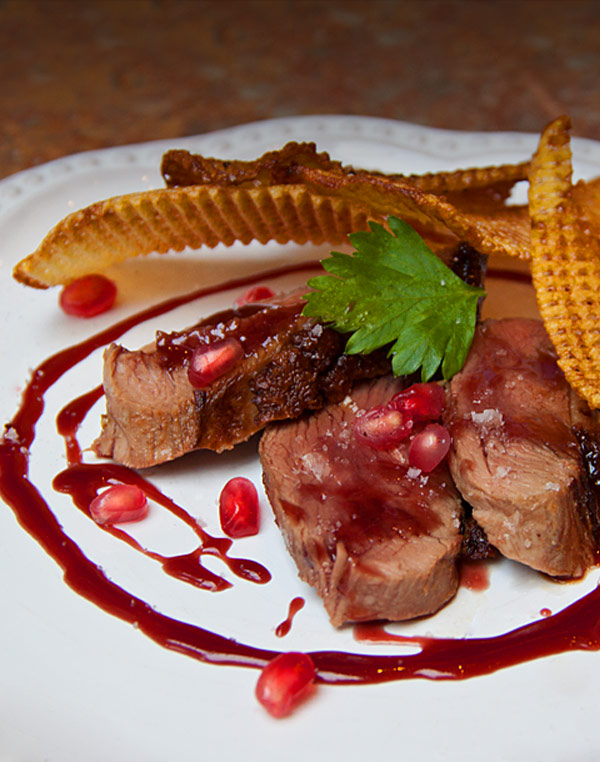 duck pomegranate sauce - she paused 4 thought