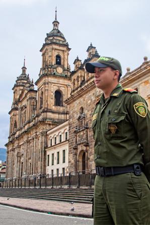 police-in-bogota colombia