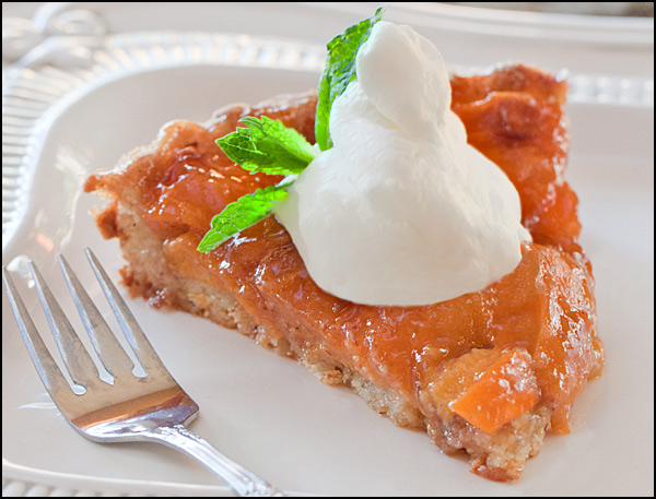 Fresh Almond Apricot Tart | Cathy Arkle
