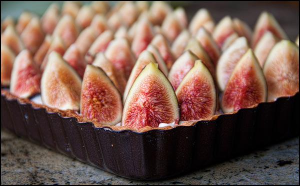 Fig-and-Ginger-Brulee-Tart | She Paused 4 Thought #CAFigs