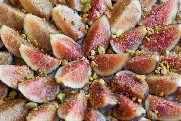 Fig & Ginger Brûlée Tart | She Paused 4 Thought #cafigs