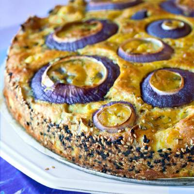 Ottolenghi's Cauliflower Cake | She Paused 4 Thought