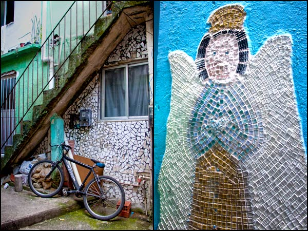 Mosaics in Favelas| She Paused 4 Thought