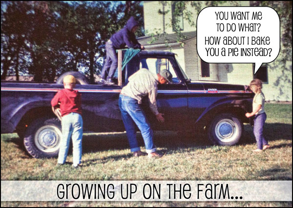 Iowa Farm Life | She Paused 4 Thought