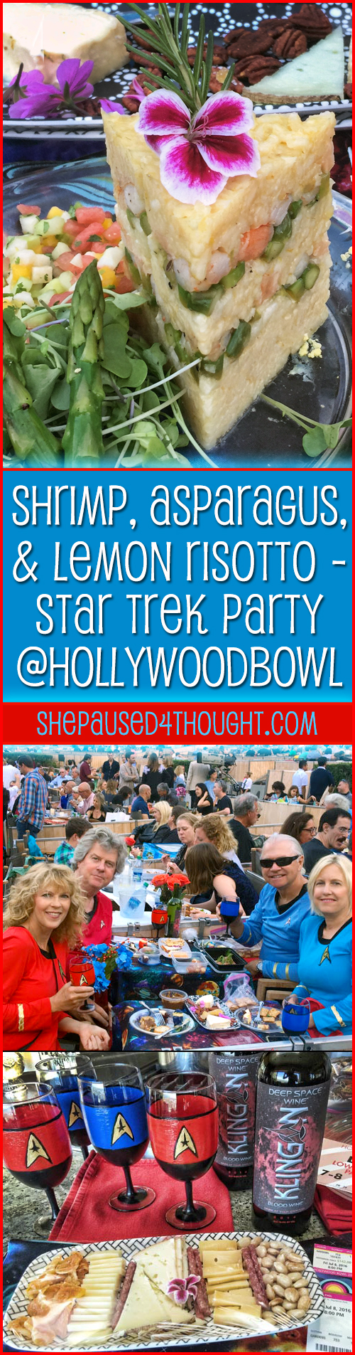 Star Trek Party at Hollywood Bowl | She Paused 4 Thought