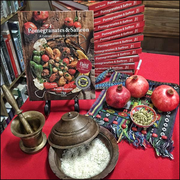Pomegranates and Saffron_cookbook | She Paused 4 Thought