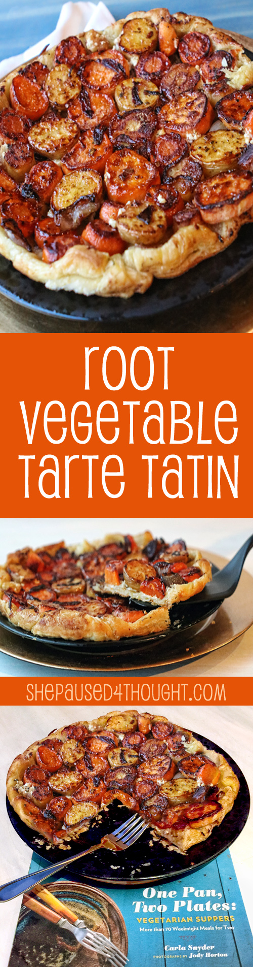 Root Vegetable Tarte Tatin | She Paused 4 Thought