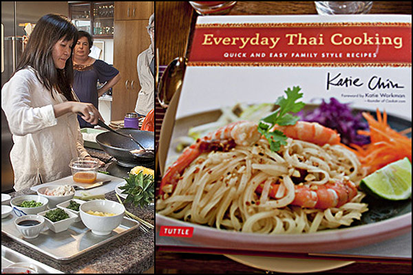 Katie Chin's Thai Cookbook | She Paused 4 Thought
