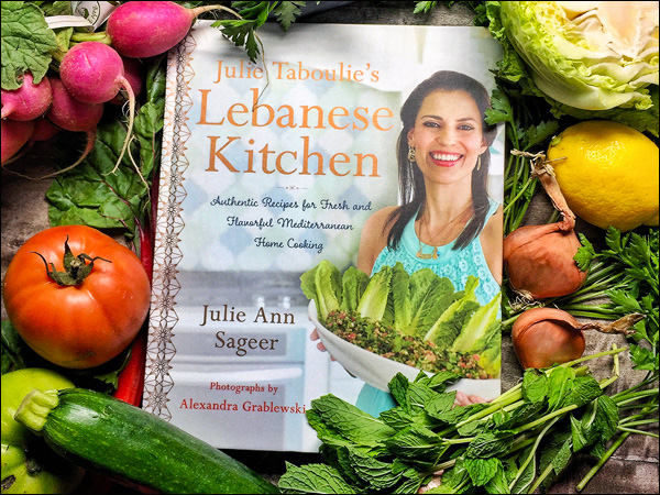 Julie Taboulie Cookbook | She Paused 4 Thought