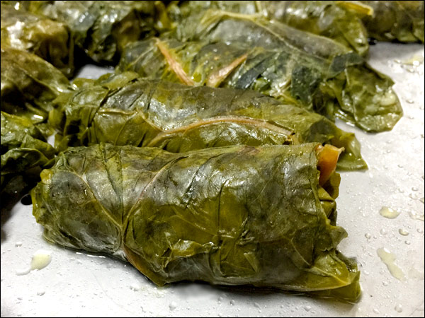 Stuffed Swiss Chard Leaves | She Paused 4 Thought