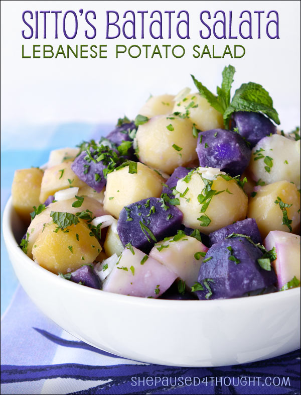 Sitto's Batata Salata | She Paused 4 Thought
