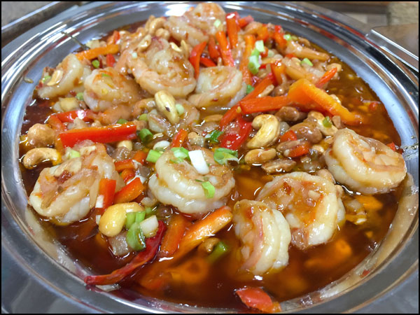 Kung Pao Shrimp | She Paused 4 Thought