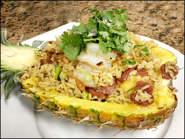 Pineapple Fried Rice | She Paused 4 Thought