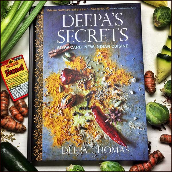Deepas Secrets Cookbook | She Paused 4 Thought