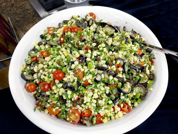 corn salad | Istanbul & Beyond