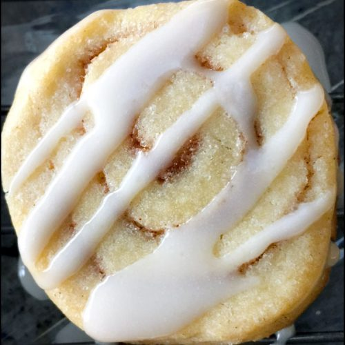 Cinnamon Roll Cookies | She Paused 4 Thought