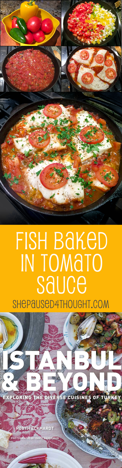 Fish Baked in Tomato Sauce | She Paused 4 Thought