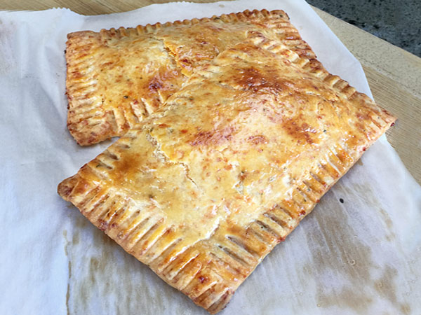 Tomato and Cheese Pop Tart