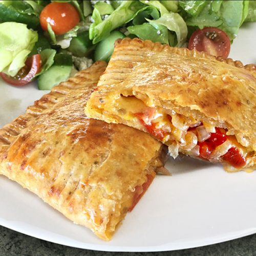 Tomato and Cheese Pop Tarts