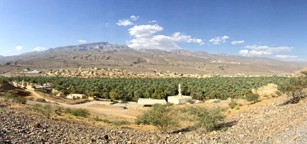 Omani landscape in Oman