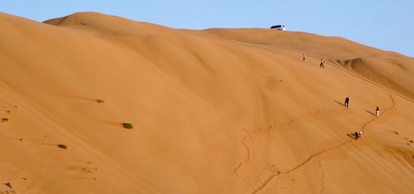 sand dune in Oman