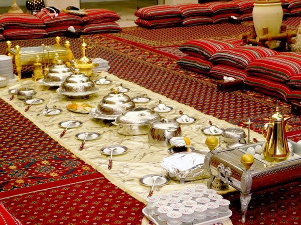 Dinner in Oman