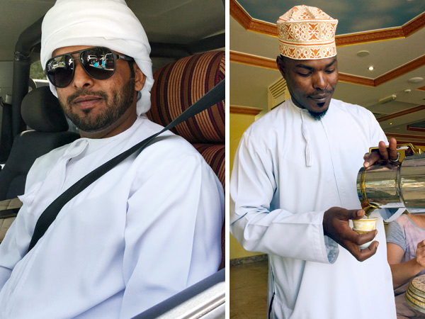 Traditional dress for men in Oman