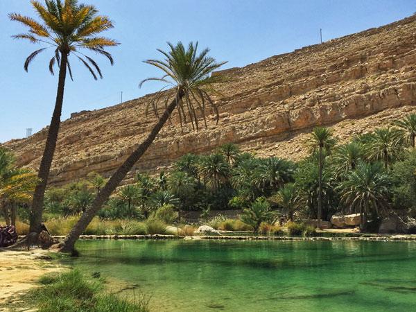 wadis in Oman