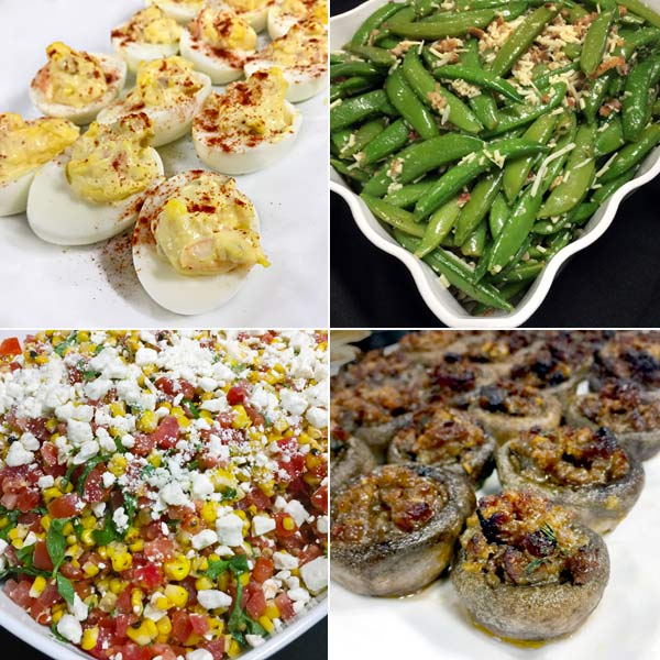 assorted dishes from Bring It! Cookbook