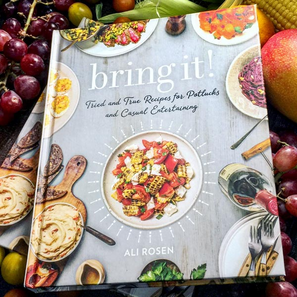 Bring It! Cookbook by Ali Rosen book cover