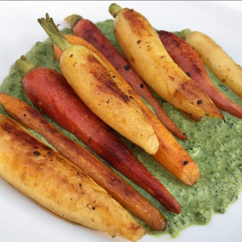 Creamy Carrot Top Pesto – You Can Have It!